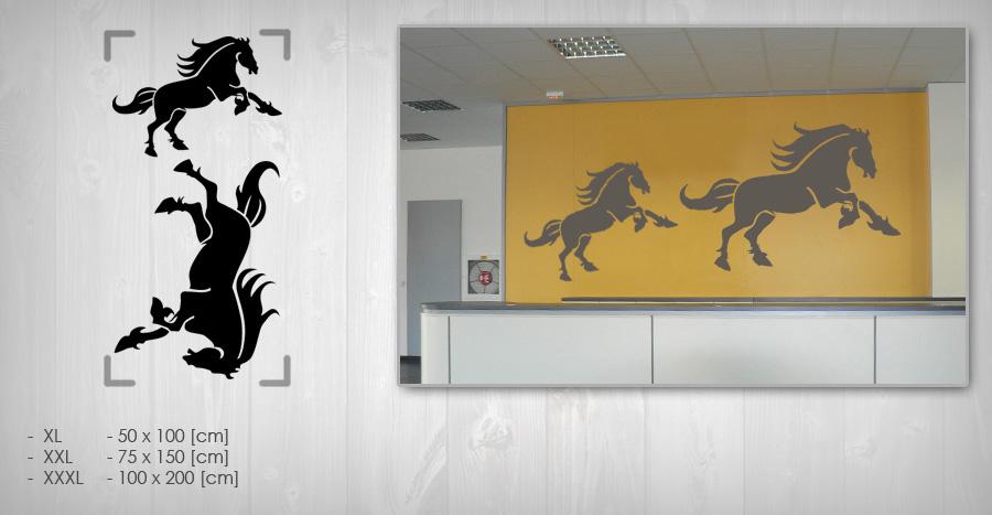 Nálepka na stenu KONE NAKO019 (samolepky na stenu)
