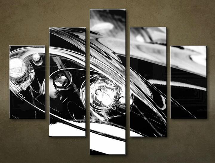 Image of Obraz na stenu 5 dielny MOTO POJ_0001_5EL (obraz na plátne)