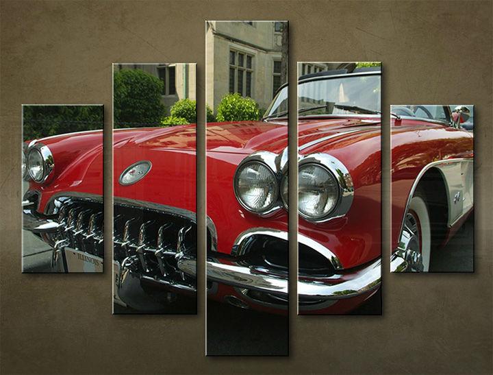 Image of Obraz na stenu 5 dielny MOTO POJ_0004_5EL (obraz na plátne)
