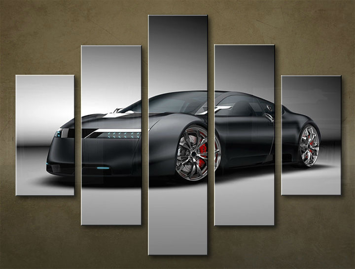 Image of Obraz na stenu 5 dielny MOTO POJ_0010_5EL (obraz na plátne)