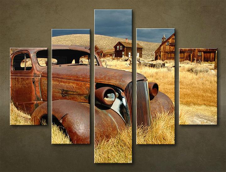 Image of Obraz na stenu 5 dielny MOTO POJ_0013_5EL (obraz na plátne)