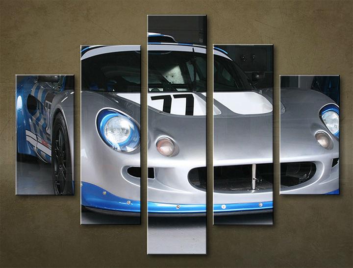 Image of Obraz na stenu 5 dielny MOTO POJ_0017_5EL (obraz na plátne)
