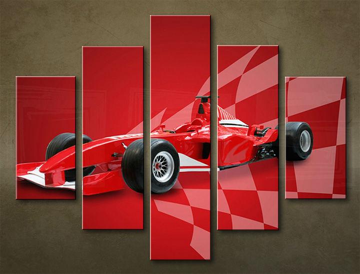 Image of Obraz na stenu 5 dielny MOTO POJ_0018_5EL (obraz na plátne)