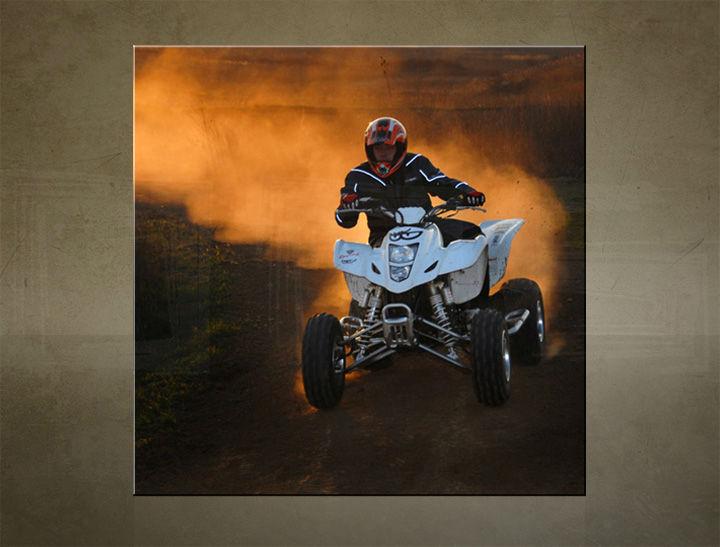 Obraz na stenu ŠTVOREC MOTO - AHD25750