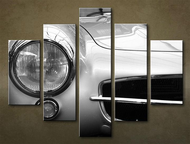 Image of Obraz na stenu 5 dielny MOTO POJ_0029_5EL (obraz na plátne)