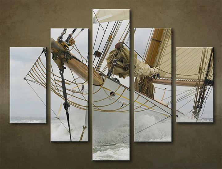 Image of Obraz na stenu 5 dielny MOTO POJ_0030_5EL (obraz na plátne)