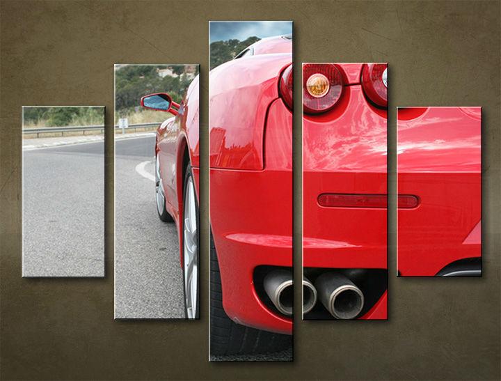 Image of Obraz na stenu 5 dielny MOTO POJ_0039_5EL (obraz na plátne)