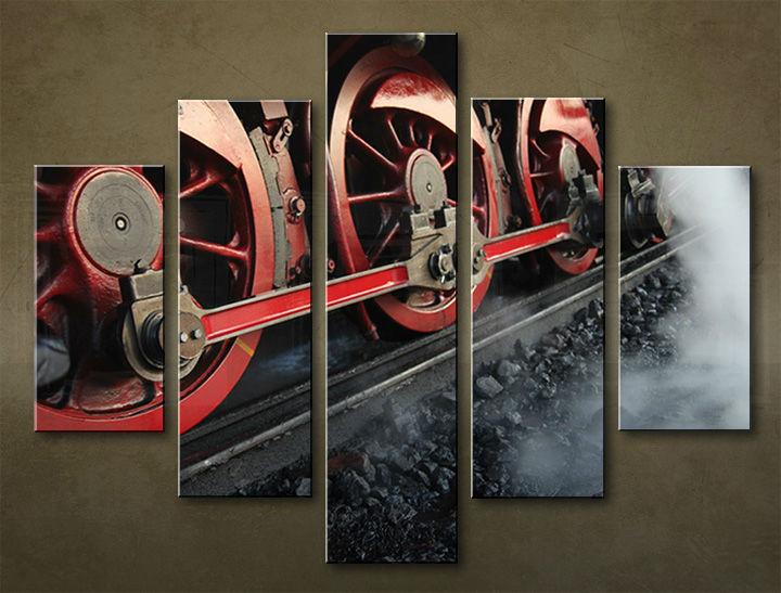 Image of Obraz na stenu 5 dielny MOTO POJ_0041_5EL (obraz na plátne)
