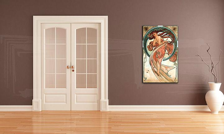 Obraz na plátne TANEC – Alfons Mucha REP090 (reprodukcia 50x80 cm)