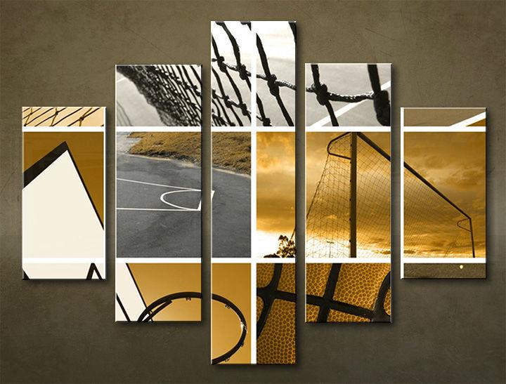 Image of Obraz na stenu 5 dielny ŠPORT SPO_0008_5EL (obraz na plátne)