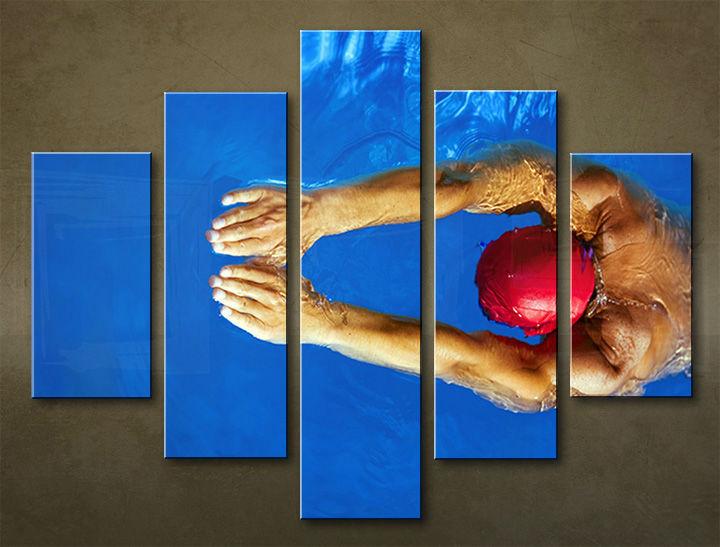 Image of Obraz na stenu 5 dielny ŠPORT SPO_0034_5EL (obraz na plátne)