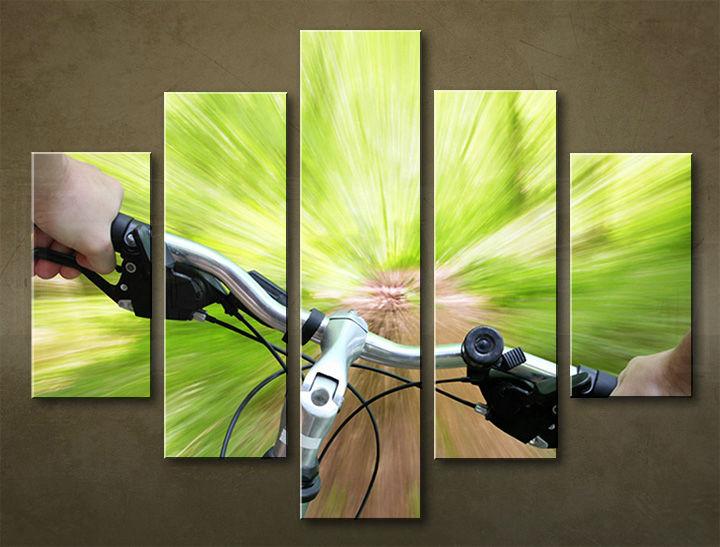 Image of Obraz na stenu 5 dielny ŠPORT SPO_0056_5EL (obraz na plátne)
