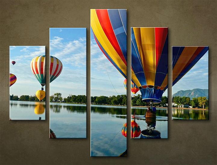 Image of Obraz na stenu 5 dielny ŠPORT SPO_0063_5EL (obraz na plátne)