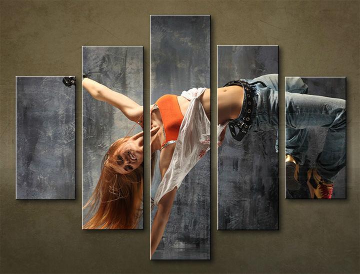 Image of Obraz na stenu 5 dielny ŠPORT SPO_0067_5EL (obraz na plátne)