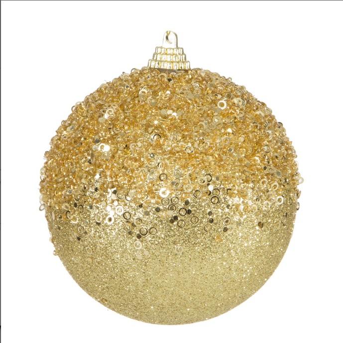 Vianočná guľa MARIN 6 ks v balení (10 cm)