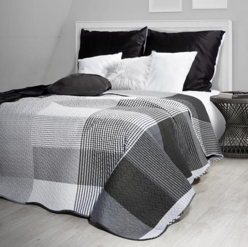 Prehoz na posteľ GLORIA 200x220 cm (obojstranný prehoz na posteľ)