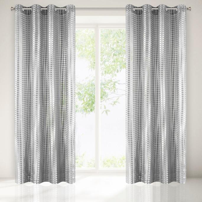Luxusná záclona JORDAN 140x250 cm (1 ks v balení)