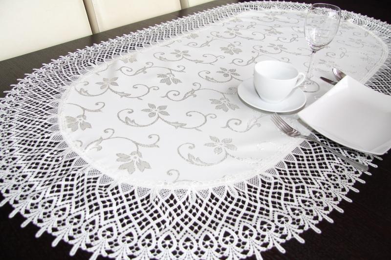 Oválny obrus na stôl G9 50x100 cm (kuchynský textil)