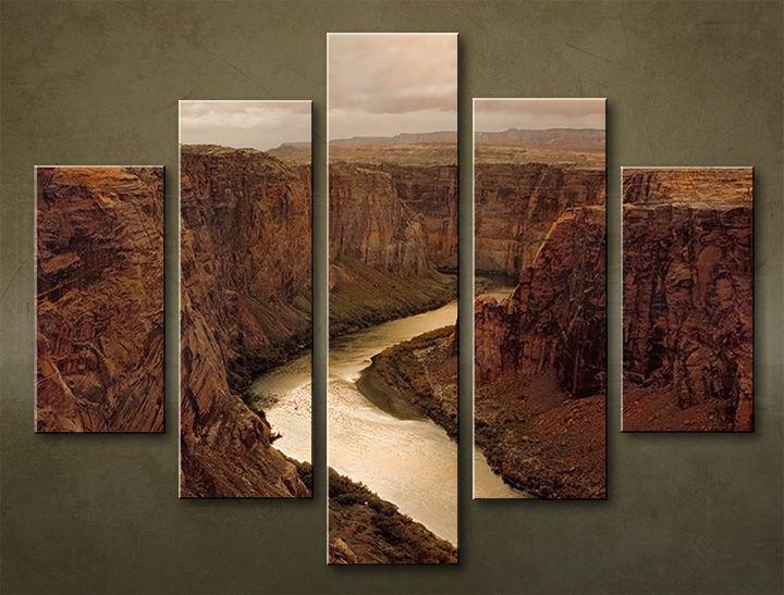 Image of Obraz na stenu 5 dielny KRAJINA WGO_0001_5EL (obraz na plátne)