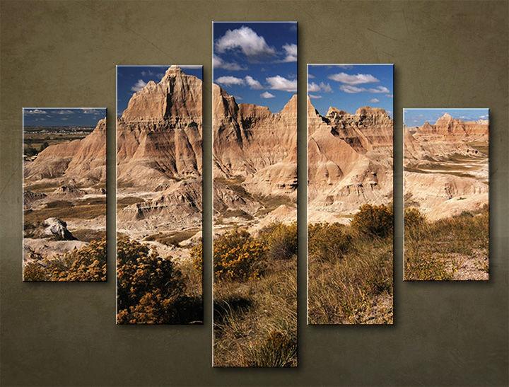 Image of Obraz na stenu 5 dielny KRAJINA WGO_0002_5EL (obraz na plátne)