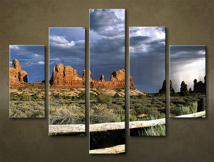 Image of Obraz na stenu 5 dielny KRAJINA WGO_0005_5EL (obraz na plátne)