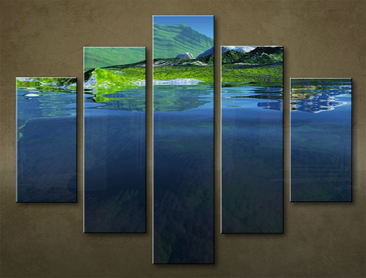 Image of Obraz na stenu 5 dielny KRAJINA WGO_0007_5EL (obraz na plátne)