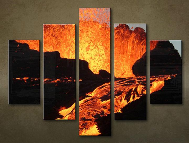 Image of Obraz na stenu 5 dielny KRAJINA WGO_0009_5EL (obraz na plátne)