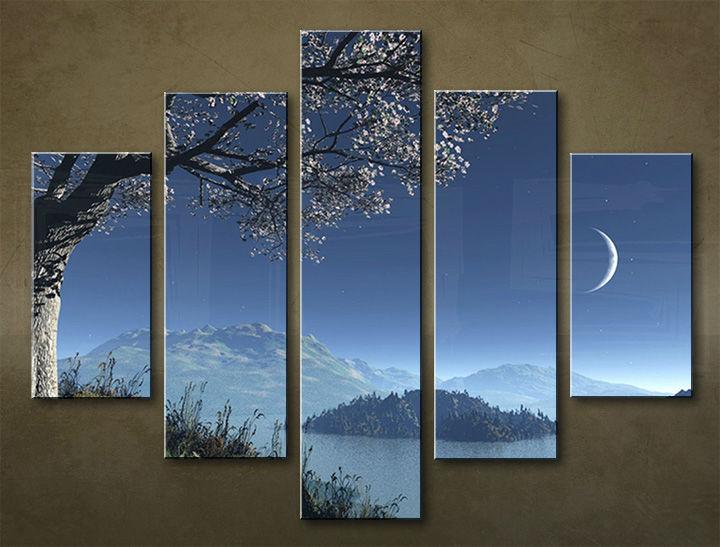 Image of Obraz na stenu 5 dielny KRAJINA WGO_0011_5EL (obraz na plátne)