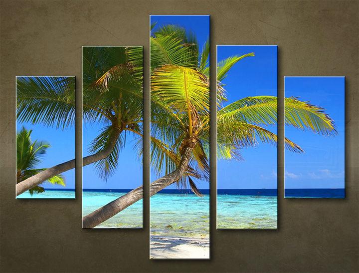 Image of Obraz na stenu 5 dielny PLÁŽ WPL_0012_5EL (obraz na plátne)