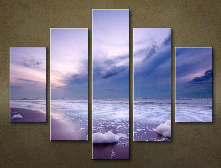 Image of Obraz na stenu 5 dielny PLÁŽ WPL_0016_5EL (obraz na plátne)