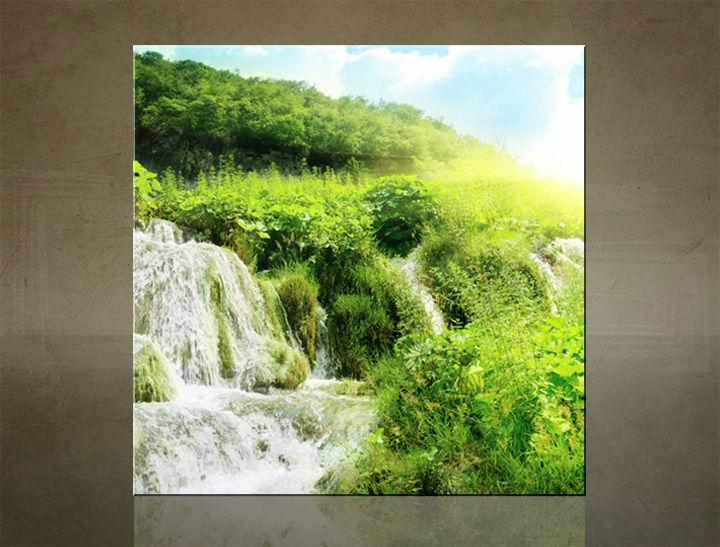 Obraz na stenu ŠTVOREC VODOPÁDY - AHD25951
