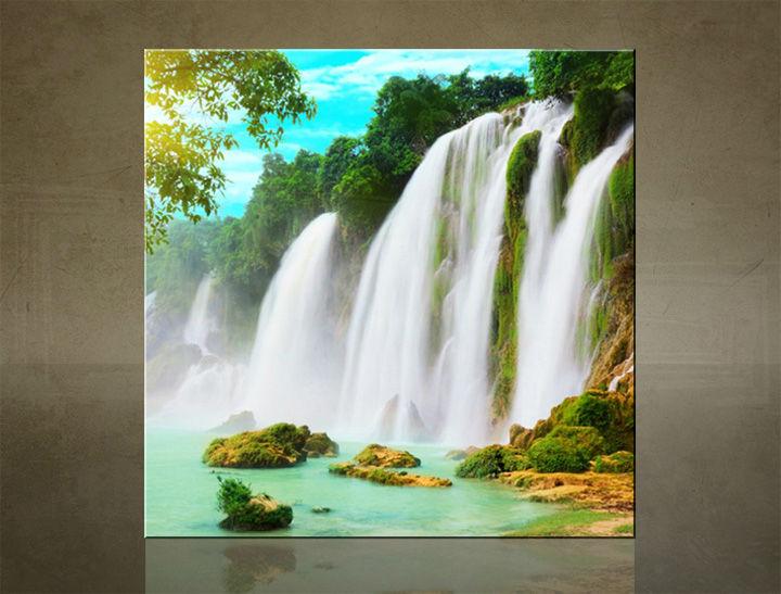Obraz na stenu ŠTVOREC VODOPÁDY - AHD25961