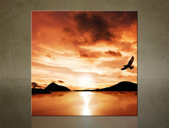 Obraz na stenu ŠTVOREC ZÁPAD SLNKA - AHD25529