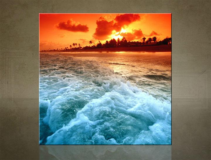 Obraz na stenu ŠTVOREC ZÁPAD SLNKA - AHD25541