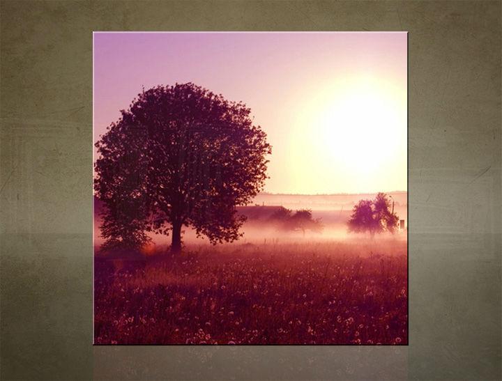 Obraz na stenu ŠTVOREC ZÁPAD SLNKA - AHD25554