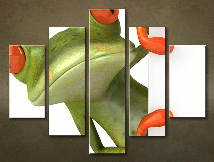 Image of Obraz na stenu 5 dielny ZVIERATÁ ZWI_00105_5EL (obraz na plátne)