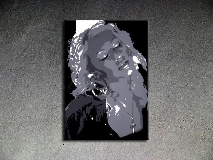Ručne maľovaný POP Christina Aguilera 1 dielny 70x100cm ca - AHD26297