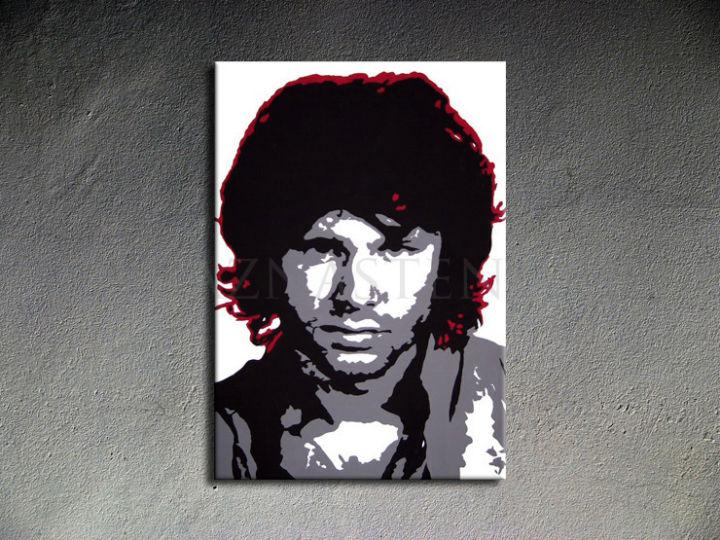 Ručne maľovaný POP Jim Morrison 1 dielny 70x100cm jm - AHD26299