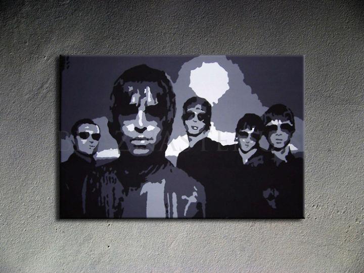 Ručne maľovaný POP Art Oasis 1 dielny 100x70cm oa - AHD26224