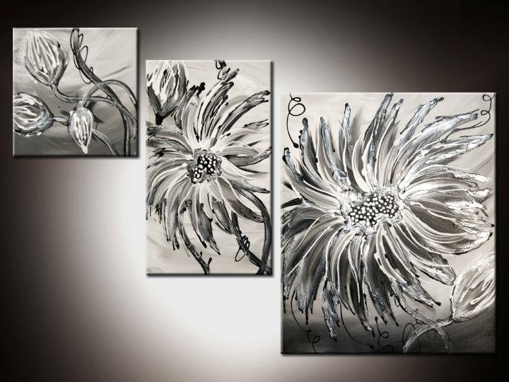 Ručne maľované obrazy - 3D obraz 110x80cm
