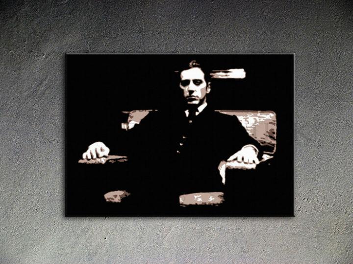 Ručne maľovaný POP Art Godfather 1 dielny 100x70cm god9 - AHD26109