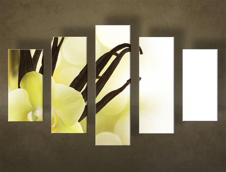 Image of Obraz na stenu Zľava 40 % 5 dielny KVETY 150x100 cm 5KZ12/24h