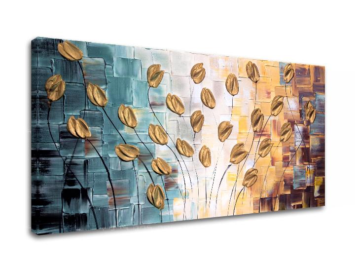 Maľovaný obraz na stenu KVETY FB002E1 (maľované obrazy FABIO)