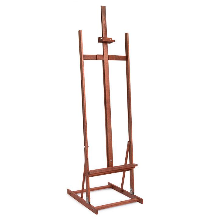 Dekoračný stojan na obraz KING - Teak SZ5-teak (stojany na obrazy)