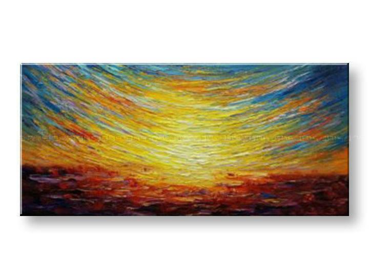 Maľovaný obraz na stenu na stenu ABSTRAKT BI161E1 (maľované obrazy BIANCA)