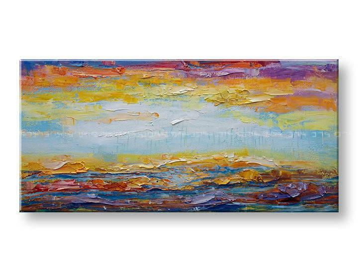 Maľovaný obraz na stenu na stenu ABSTRAKT BI166E1 (maľované obrazy BIANCA)