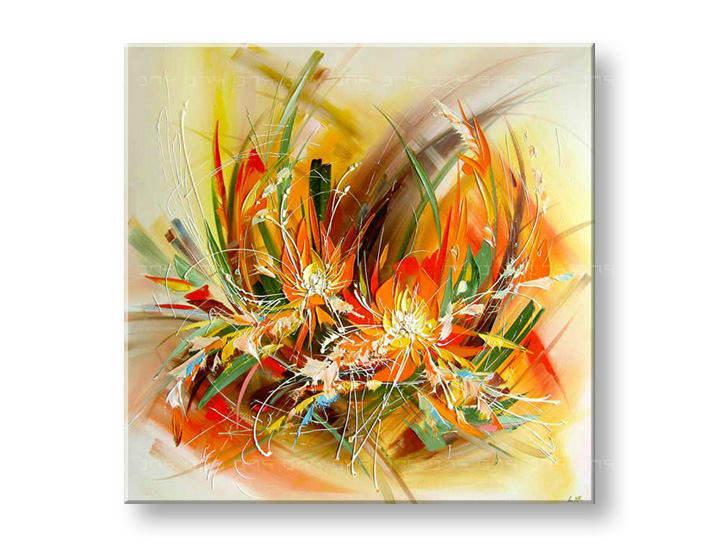 Maľovaný obraz na stenu ABSTRAKT FB025E1 (maľované obrazy FABIO)