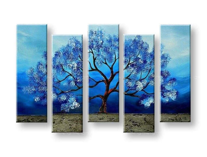 Maľovaný obraz na stenu STROMY FB139E5 (maľované obrazy FABIO)