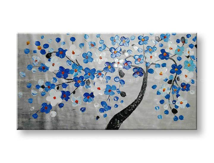 Maľovaný obraz na stenu STROMY FB150E1 (maľované obrazy FABIO)