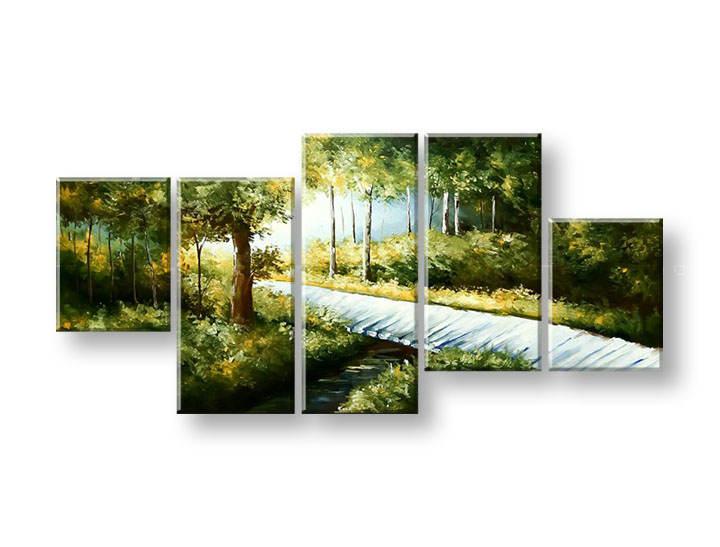 Maľovaný obraz na stenu STROMY FB245E5 (maľované obrazy FABIO)